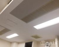 集会室 天井とタイルカーペットのリフォーム